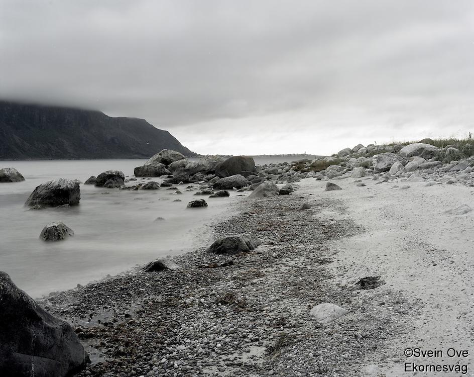 Utsikt mot Alnes fra Giske.<br /> Foto: Svein Ove Ekornesvåg