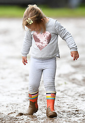 The Whatley Manor International Horse Trials at Gatcombe Park, Minchinhampton, Gloucestershire, UK, on the 10th September 2017. 10 Sep 2017 Pictured: Mia Tindall. Photo credit: James Whatling / MEGA TheMegaAgency.com +1 888 505 6342