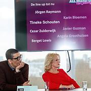 NLD/Amsterdam/20171212 - Perspresentatie All Mixed up the Challenge, Jorgen Raymann en Tineke Schouten