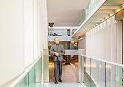 Milan, Gildo Zegna in the Milan Headqaurted designed by Citterio