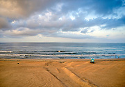 The Shoreline of Huntington Beach