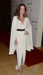 Kate Beckinsale arrives at the London Critics' Circle Film Awards at the May Fair Hotel in London.