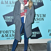 Laura Aikman arrivers Skate at Somerset House with Fortnum & Mason Launch party, London, Somerset House, 12 November 2019, London, UK.