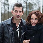 NLD/Hilversum//20140317 - Danny Vera en partner Escha Tanihatu