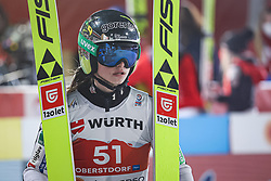02.03.2021, Oberstdorf, GER, FIS Weltmeisterschaften Ski Nordisch, Oberstdorf 2021, Damen, Skisprung, HS137, Einzelbewerb, Qualifikation, im Bild Nika Kriznar (SLO) // Nika Kriznar (SLO) during the qualification jump for the women ski Jumping HS137 single competition of FIS Nordic Ski World Championships 2021 Oberstdorf, Germany on 2021/03/02. EXPA Pictures © 2021, PhotoCredit: EXPA/ Tadeusz Mieczynski
