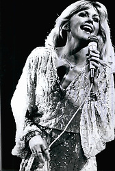 Jan. 03, 1973 - Olivia Newton-John Gave Her Debut In West-Germany: The first appearance in West-Germany of Olivia Newton-John, the new star from USA, took place at these days at the Congress-Center of Hamburg. The partner of the public-favourite John Travolta intend to enlist with her first show at West-Germany for the American country- and popmusic and for her new film ''Grease''. Photo shows Olivia Newton-John during her show in Hamburg/West-Germany, which took place in the frame of a Europe tour of the American star. (Credit Image: © Keystone Press Agency/Keystone USA via ZUMAPRESS.com)