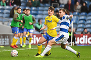 Leeds United Midfielder Jamie Shackleton (46) during the The FA Cup match between Queens Park Rangers and Leeds United at the Loftus Road Stadium, London, England on 6 January 2019.