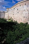 Fortified city walls of Mdina, Malta 1998