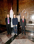Peter Sarsgaard, Shelly Rubin And Donald Light The Empire State Building