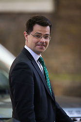 Secretary of State for Housing, Communities and Local Government James Brokenshire leaves the weekly UK cabinet meeting at 10 Downing Street in London, May 01 2018.