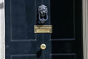 Very little movements are seen in number ten the day of the PM's Q&A in Downing Street on Wednesday, May 27, 2020. The prime minister's populist appeal has been hammered by the news that, as the coronavirus outbreak raged, chief adviser Cummings drove 250 miles (400 kilometres) to his parents' house while he was falling ill with suspected COVID-19 allegedly flouting lockdown rules that the government had imposed on the rest of the country. (Photo/ Vudi Xhymshiti)