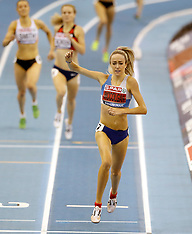 2018 SPAR British Indoor Athletics Championships - Day Two - 18 February 2018