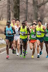 Stephen Sambu, Kenya, leads field