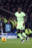 Bacary Sagna of Manchester City in action. Capital one cup semi final 1st leg match, Everton v Manchester city at Goodison Park in Liverpool on Wednesday 6th January 2016.<br /> pic by Chris Stading, Andrew Orchard sports photography.
