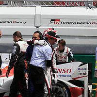 #5, Toyota Gazoo Racing TS050 Hybrid, driven by Anthony Davidson, Sebsatien Buemi, Kazuki Nakajima, 24 Heures Du Mans , 19/06/2016,