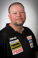 Raymond van Barneveld pictured at the Brighton Centre in Brighton, East Sussex for Betway Premier League Darts. Picture date: Thursday 15th May, 2014. Photo credit should read: Chris Ison.