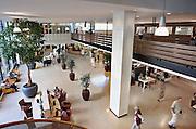 Nederland, Nijmegen, 29-8-2012De centrale hal van het UMC St Radboud. Radboudumc. NIET MODEL RELEASED. NIET VOOR RECLAME ENZ.Foto: Flip Franssen