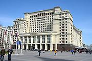 Moskou is de hoofdstad en met afstand de grootste stad van Rusland, voorheen van de Sovjet-Unie./// Moscow is the capital and by far the largest city of Russia, formerly the Soviet Union.<br /> <br /> Op de foto / On the photo: Four Seasons Hotel