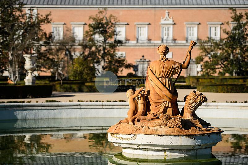 Fuente de Ceres en el Jardín del Parterre.Palacio Real de Aranjuez. Madrid. España. Europa<br />  ©Country Sessions / PILAR REVILLA