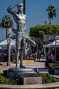 Newport Beach Lifeguard Ben Carlson Statue