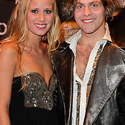 NLD/Amsterdam/20120217 - Premiere Saturday Night Fever, Paul Turner en danseres