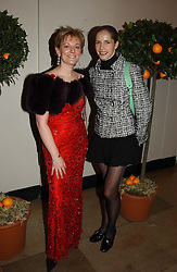 Left to right, JO MALONE and Ballerina DARCEY BUSSELL<br /><br />at a party to celebrate the 10th anniversary of Jo Malone the perfumer held at The Banquetting House, Whitehall, London on 21st October 2004.<br /><br /><br /><br />NON EXCLUSIVE - WORLD RIGHTS