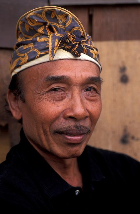 Balinese man, Bali, Indonesia