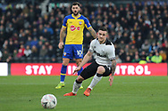 Derby County forward Jack Marriott during the The FA Cup 3rd round match between Derby County and Southampton at the Pride Park, Derby, England on 5 January 2019.