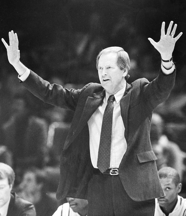 © High school basketball coach in state finals, Austin, TX