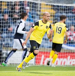 Livingston Darren Cole. <br /> Raith Rovers 3 v 0 Livingston, SPFL Ladbrokes Premiership game played 8/8/2015 at Stark's Park.