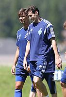 Fotball<br /> 01.07.2015<br /> Foto: Gepa/Digitalsport<br /> NORWAY ONLY<br /> <br /> Dynamo Kiev<br /> FC Dynamo Kyiv, training camp. Image shows Aleksandar Dragovic and Danilo Silva (Kiev).