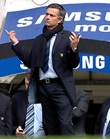 Photo: Daniel Hambury.<br /> Chelsea v Manchester United. The Barclays Premiership. 29/04/2006.<br /> Chelsea's manager Jose Mourinho.