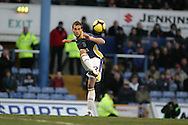 Roger Johnson of Cardiff City. FA Cup, 3rd round match, Cardiff City v Reading at Ninian Park, Cardiff on Sat 3rd Jan 2009. .pic by Andrew Orchard, Andrew Orchard sports photography