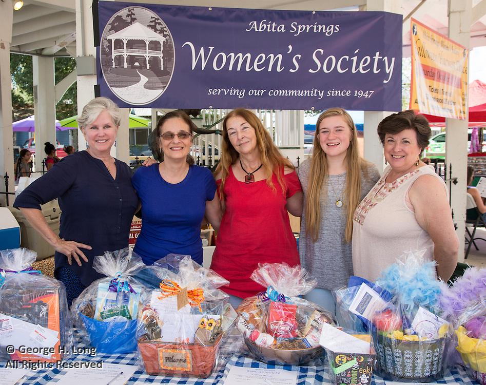 Abita Springs Women's Society at the 2016 Water Festival