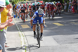 June 17, 2017 - Schaffhausen, Suisse - SCHAFFHAUSSEN, SWISS - JUNE 17 : BRAMBILLA Gianluca of Quick-Step Floors during stage 8 of the Tour de Suisse cycling race, a stage of 100 kms between Schaffhaussen and Schaffhaussen on June 17, 2017 in Schaffhaussen, Swiss, 17/06/2017 (Credit Image: © Panoramic via ZUMA Press)
