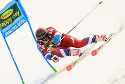 March 9, 2019 - Kranjska Gora, Kranjska Gora, Slovenia - Pavel Trikhichev of Russia in action during Audi FIS Ski World Cup Vitranc on March 8, 2019 in Kranjska Gora, Slovenia. (Credit Image: © Rok Rakun/Pacific Press via ZUMA Wire)
