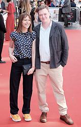 Edinburgh International Film Festival 2019<br /> <br /> Mrs Lowry And Son (World Premiere, closing night gala)<br /> <br /> Pictured: Kate Dickie and Kenny Christie<br /> <br /> Alex Todd   Edinburgh Elite media