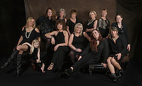A photo session with the girls.... Sisterhood.  ©2017 Karen Bobotas Photographer