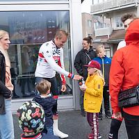 Aleksander Kristoff under starten i Lyngdal av Tour of Norway sykkelritt etappe 2: Lyngdal - Kristiansand.