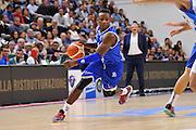 DESCRIZIONE : Beko Legabasket Serie A 2015- 2016 Dinamo Banco di Sardegna Sassari - Enel Brindisi<br /> GIOCATORE : David Reginald Cournooh<br /> CATEGORIA : Palleggio Penetrazione<br /> SQUADRA : Enel Brindisi<br /> EVENTO : Beko Legabasket Serie A 2015-2016<br /> GARA : Dinamo Banco di Sardegna Sassari - Enel Brindisi<br /> DATA : 18/10/2015<br /> SPORT : Pallacanestro <br /> AUTORE : Agenzia Ciamillo-Castoria/C.Atzori