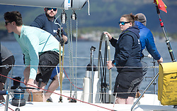 Pelle P Kip Regatta 2019 Day 1<br /> <br /> Light and bright conditions for the opening racing on the Clyde keelboat season<br /> <br /> GRB9887T, No Worries, Dr Jim Dervin, Tees and Hartlepool, J109