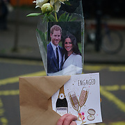 London, England, UK. 9th January 2018. Image of Brixton station during Prince Harry and Meghan visit Reprezent 107.3FM Radio station.