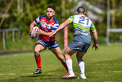 West Wales Raiders v Oldham RLFC<br /> <br /> Photographer Craig Thomas/Replay Images<br /> <br /> Betfred League 1 - West Wales Raiders v Oldham RLFC  - Friday 30th March 2018 - Stebonheath Park - Llanelli<br /> <br /> World Copyright © 2017 Replay Images. All rights reserved. info@replayimages.co.uk - www.replayimages.co.uk