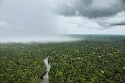 Essequibo River region 9<br /> Iwokrama<br /> Rupununi<br /> GUYANA<br /> South America<br /> Longest river in Guyana