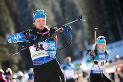 Uliana Kaisheva (RUS) in action during the Women 7,5km Sprint at day 7 of IBU Biathlon World Cup 2018/19 Pokljuka, on December 8, 2018 in Rudno polje, Pokljuka, Pokljuka, Slovenia. Photo by Urban Urbanc / Sportida