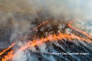 63863-03010 Prescribed Burn by IDNR Prairie Ridge State Natural Area Marion Co. IL
