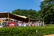 21-07-2018 Pictures of the final day of the Zwitserleven Dutch Junior Open at the Toxandria Golf Club in The Netherlands.  Balcony of the club house