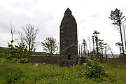 Kimego Sliabh Each Peat Works near Cooscrome, Cahersiveen, County Kerry. The old peat turf station once employed 600 people cutting and drying turf before shipping to the UK.<br /> Photo: Don MacMonagle
