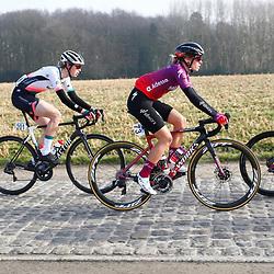 27-02-2021: Wielrennen: Omloop Het Nieuwsblad - Vrouwen: Gent: Demi Vollering