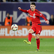 NEW YORK, NEW YORK - November 06: Will Johnson #7 of Toronto FC in action during the NYCFC Vs Toronto FC MLS playoff game at Yankee Stadium on November 06, 2016 in New York City. (Photo by Tim Clayton/Corbis via Getty Images)